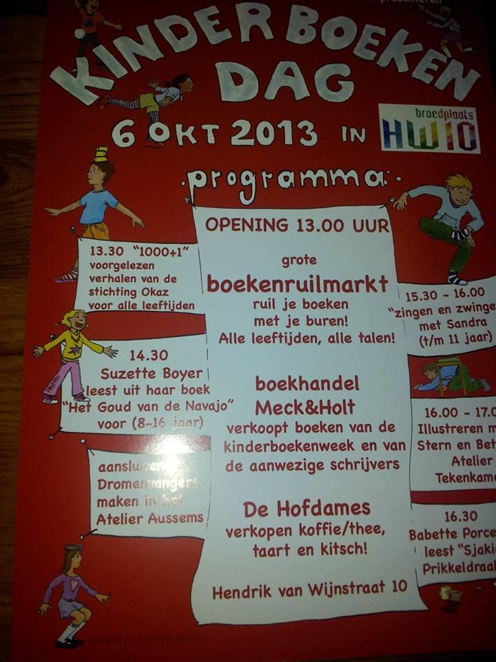 Stichting Okaz doet mee aan Kinderboekweek