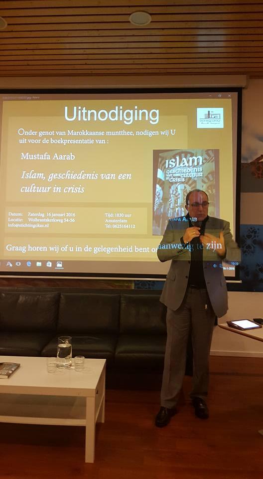 Moustafa Aarab:   Islam, Geschedenis van een cultuur in crisis.
